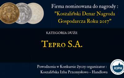 Nominacja do Koszalińskiego Denara