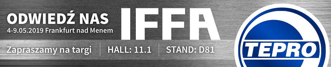 Międzynarodowe Targi Przetwórstwa Mięsnego IFFA we Frankfurcie